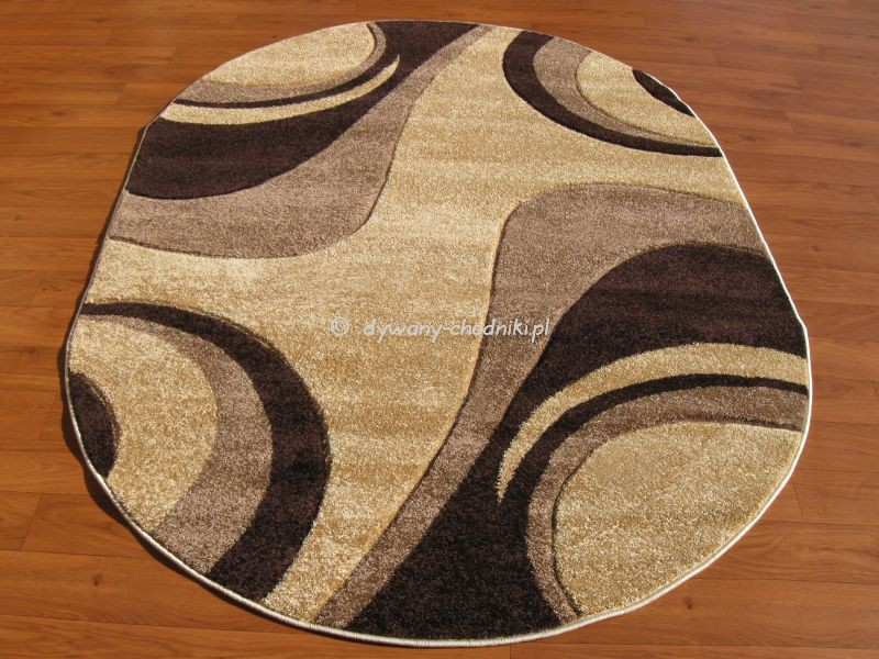 Dywan Lotus 5314a Owal Beżowy Sklep Dywany Chodnikipl