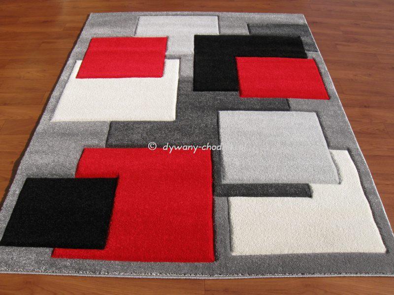 Dywan Rumba 8423d czerwony