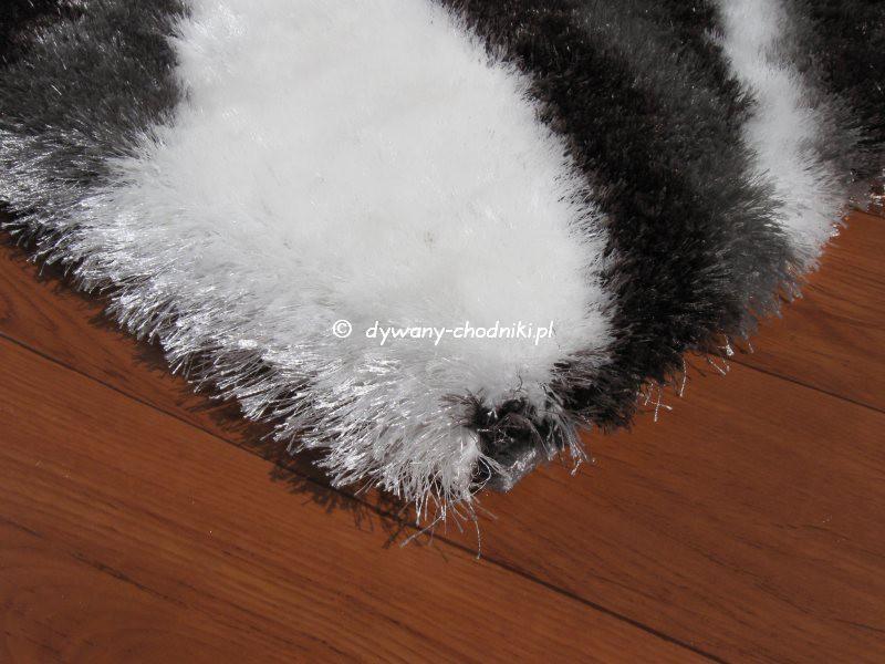 Dywan Super Soft Shaggy 3d 1112 Szary Sklep Dywany Chodnikipl