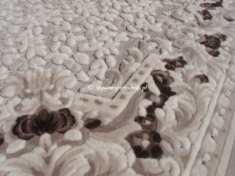 Dywan Akrylowy Lilium 425k Beżowy Sklep Dywany Chodnikipl